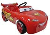 TREFL 62245-RD-00–Rayo Mcqueen de Cars Coche a Pedales–Tamaño 96x 51x 48cm, de 3a 5años