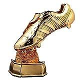 Eeng Bota de Oro de la Copa del Mundo, 1: 1, Trofeo de Recuerdo, Material de Resina Trofeo Ganador de Cristiano Ronaldo Soulier