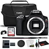 Canon EOS Rebel SL3 DSLR Camera (Black, Body Only) (3453C001) + Canon EOS Bag + Sandisk Ultra 64GB Card + Clean and Care Kit
