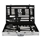 Set di Utensili per Barbecue con 26 Accessori per Barbecue - Utensili in Acciaio...