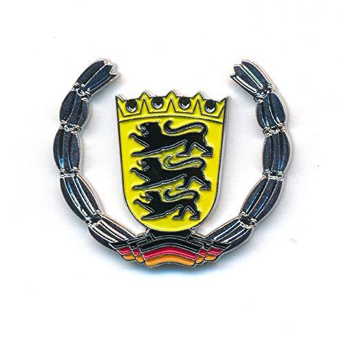 hegibaer Land Baden-Württemberg Wappen Stuttgart Deutschland Badge Pin Anstecker 0922