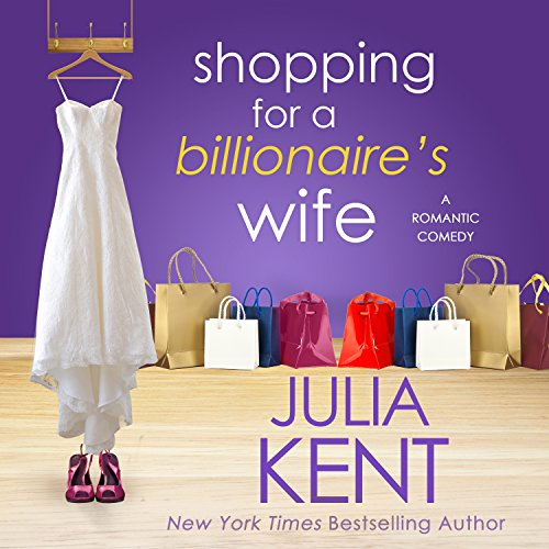 Shopping for a Billionaire's Wife audiobook cover art