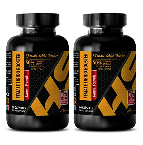 Women Sex Drive Vitamins - Female LIBIDO Booster - Natural Formula - Female Sex Products - 2 Bottles (120 Capsules)