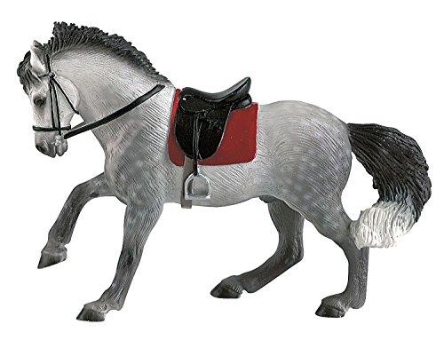 Bullyland 62659-Figura di Gioco, castrone andaluso, Alto Circa 15,8 cm, Figura Dipinta a Mano, Senza PVC, per Far Giocare i Bambini con la Fantasia, Colore Variegato, 62659