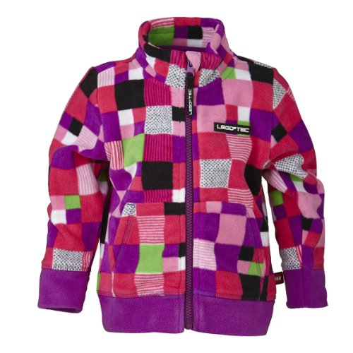 Lego Wear Maille Manches Longues BB Fille - Rose Fonc - Pink (469 Radish Red) - FR : 4 Ans (Taille Fabricant : 104)