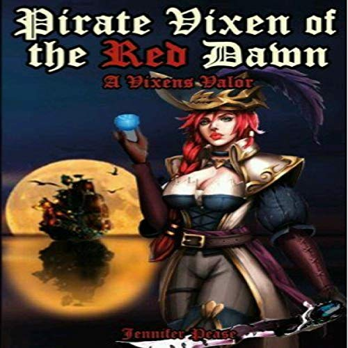 Pirate Vixen of the Red Dawn audiobook cover art