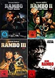 Rambo 1-4 alle Teile dvd Set, Bundle, FSK18 in Deutsch