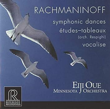 Rachmaninoff: Symphonic Dances & Vocalise - Respighi: 5 Études-tableaux After Rachmaninoff