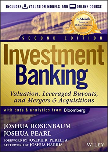 Investment Banking: Valuation Models + Online Course