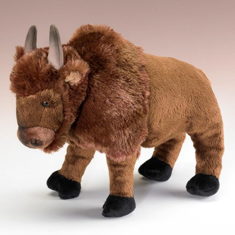 Standing Bison 12  by Wild Life Artist