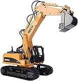 Excavadora Teledirigida a Escala 1:14 Profesional de Obra | Camión Construcción como las de verdad