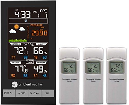 estación meteorológica 3 sensores fabricante Ambient Weather