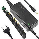 Alimentatore switching 12V 5A 60W adattatore CA con spina CC 5,5 x 2,1 mm e connettore jack CC 11 PC per strisce luminose a led, monitor del computer e altro