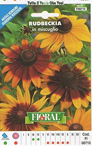 AGROBITS RUDBECKIA en Miscuglio - AIUOLE Bordure Giardini ROCCIOSI-Floral - A SEMENTI