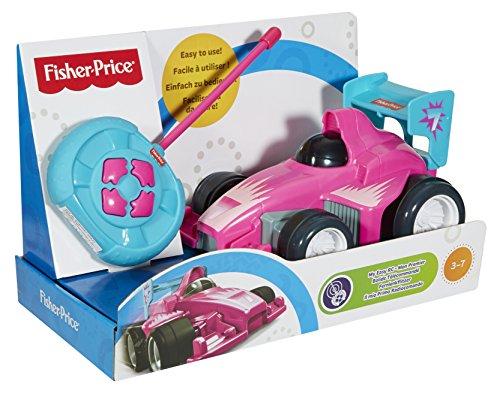 Fisher Price - CMC31 - Mon Premier Bolide Télécommandé - Rose