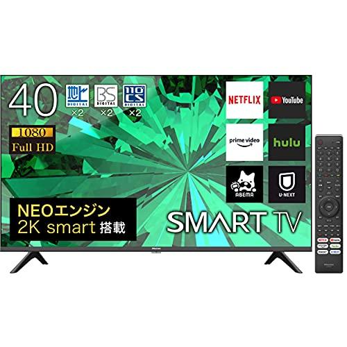 ハイセンス 40V型 フルハイビジョン 液晶テレビ 40A40G Amazon Prime Video対応 2021年モデル 3年保証