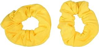 light yellow scrunchie