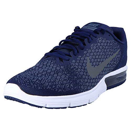 Nike Air Max Sequent 2, Scarpe da Fitness Uomo, Multicolore (Binary Blue/Dark Grey/Dark Obsidian 406), 42 EU