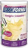 Pesoforma Smoothie Pasto Sostitutivo Dimagrante Shake Vaniglia, Ricco in Fibre - 201 Kcal - 16 Pasti - 440 Gr