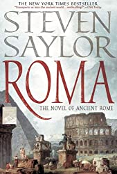Books Set in Rome: Roma by Steven Saylor. rome books, rome novels, rome literature, rome fiction, rome historical fiction, ancient rome books, rome books fiction, best rome novels, best rome fiction, ancient rome fiction, ancient rome novels, roman authors, best books set in rome, popular books set in rome, books about rome, rome reading challenge, rome reading list, rome travel, rome history, rome travel books, rome books to read, novels set in rome, books to read about rome, books to read before going to rome, books set in italy, italy books