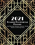 2021 Planner for Busy Chamber Professionals: Monthly & Weekly Agenda, meeting notes, habit tracking, and more