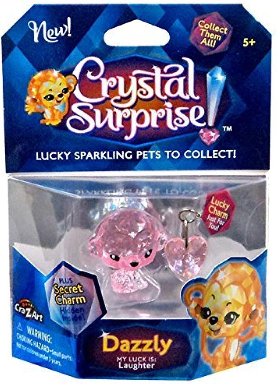 Crystal Surprise  Dazzly Lucky Pet Figure [Random color Pet ] by Crystal Surprise