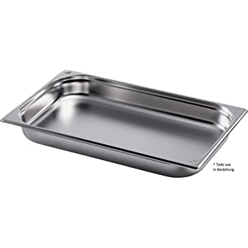 Tomy GN Beh/älter 1//1 20 mm Gastronormbeh/älter Edelstahl GN