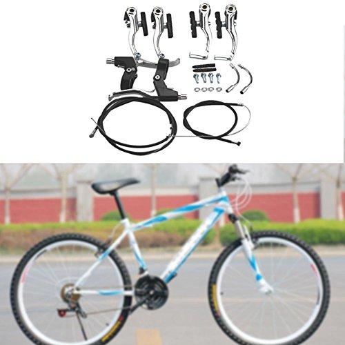 Juego de Frenos de Bicicleta Kits V-Brake para Bici de 24//26 Pulgadas