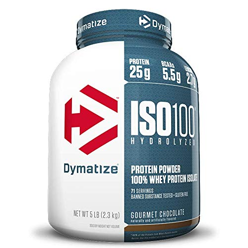 ISO 100-100% Hidrolyzed (2258g) Dymatize-Chocolate com Amendoim