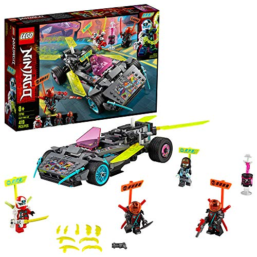 LEGO NINJAGO Ninja Tuner Car 71710 Toy Car Building Kit for Kids, New 2020 (419 Pieces)