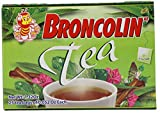 Broncolin Tea | Nutritional Herbal Tea Bags containing Honey and Plant Extracts; 25 Tea Bags