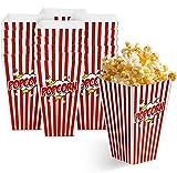 Matana 50 Grandi Scatole per Popcorn per Serate al Cinema e...