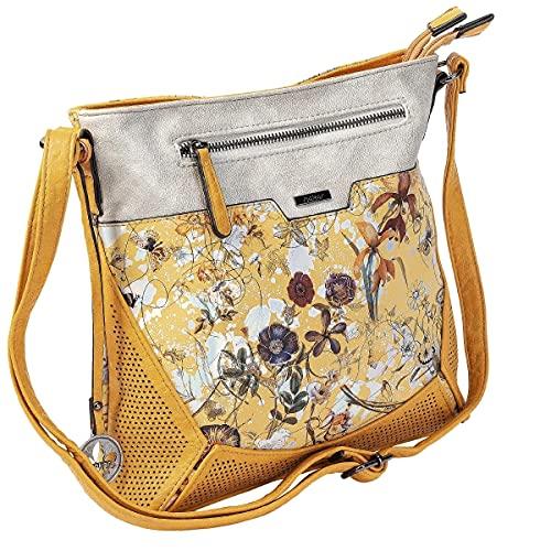Rieker Damen H1034 Handtasche, Mehrfarbig, 270x55x270