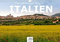 Die schoensten Orte in Italien. (Wandkalender 2022 DIN A4 quer): Erleben Sie Italien wie nie zuvor. (Monatskalender, 14 Seiten )