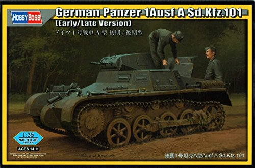 Hobby Boss 80145 – Modèle Kit German Char 1 Ausf A SD. KFZ. 101 \