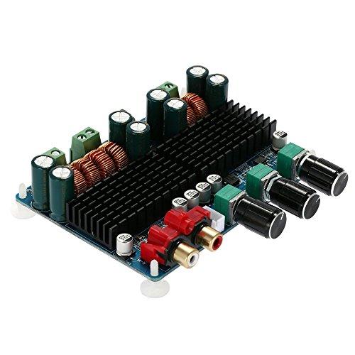 KKmoon TPA3116 50W * 2 + 100W 2.1 Canali Scheda di Amplificatore Digitale Subwoofer Power Amplifier Board, DC12V-26V