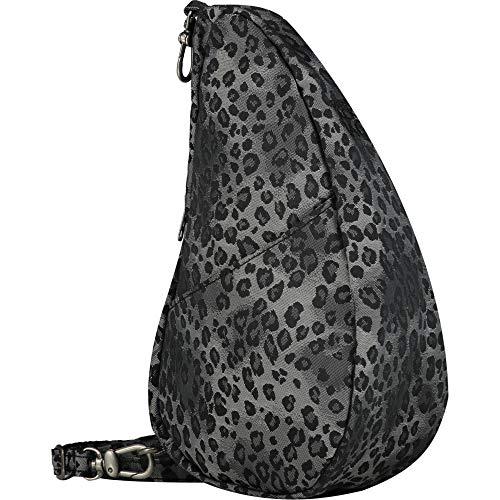 Healthy Back Bag Silver Leopard Luxe Large Baglett
