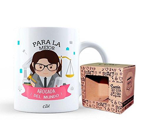 Mr Cool Taza 33 cl en Caja Regalo con Mensaje para la Mejor