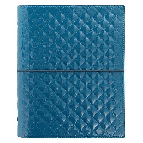 Filofax Domino Luxe Terminplaner A5 A5 blaugrün