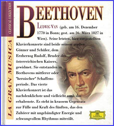 Ludwig van Beethoven: Klavierkonzerte Nr. 4, G-DUR, OP. 58 und Nr. 5, ES-DUR, OP. 73 / Maurizio Pollini / Wiener Philharmoniker / Karl Böhm (La Gran Musica: Classical Collection. Buch und CD)
