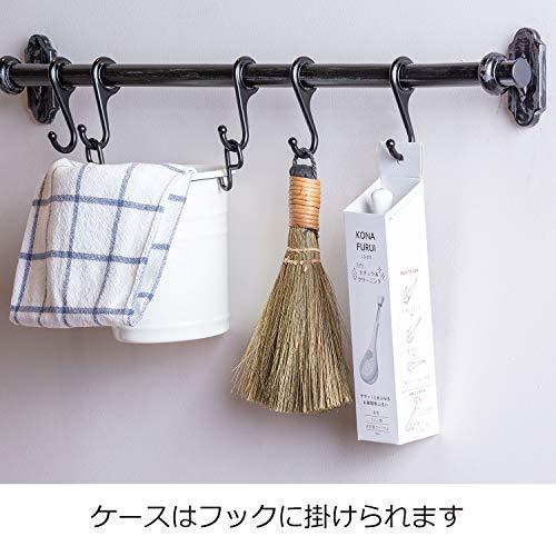 オークスレイエお掃除粉ふるいササッ!とまぶせる日本製LS1572全長18.5×幅4.5×高さ4.3cm