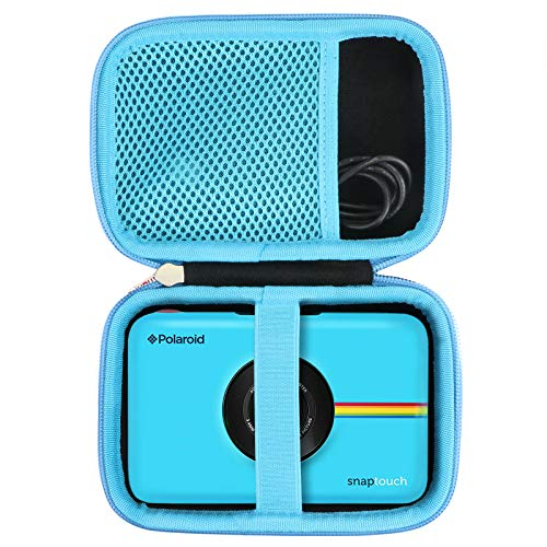 Khanka Hard Travel Case Replacement for Zink Polaroid SNAP Touch 2.0 Print Camera (Blue)