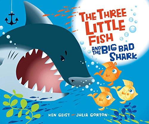 The Three Little Fish and the Big Bad Shark (English Edition)