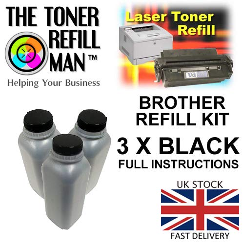 Compatibel Brother TN1050 / TN1000 / TN1700 Toner Refill Kit
