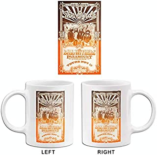 The Byrds - Bill Withers - 1971 - Paramount Theatre - Concert Poster Mug