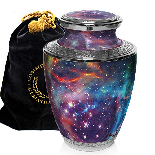 Cosmic Galaxy Universe Cremation Urn