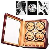 ZBHGF - Coctelera de reloj mecánico automático para hombres y mujeres relojes con motor Mabuchi silencioso 8+5 bobinador de reloj para hombre a almacenamiento de relojes