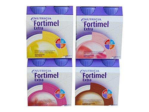 Fortimel Extra gemischt 6x4x200 ml eiweißreich hochkalorisch 1,6 kcal/ml