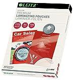 Leitz 74830000 Pochettes de plastification, Matériau Épais de...
