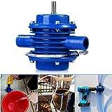 Hand Drill Pump, Multipurpose Heavy Duty Self Priming Transfer Pump, Portable Centrifugal Water